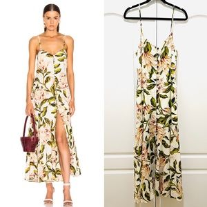 Mara Hoffman floral maxi dress M